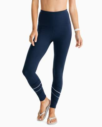 Southern Tide Kayly High Waisted Active Legging