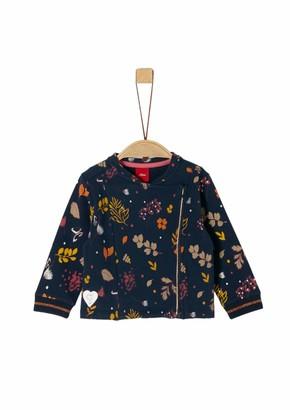 S'Oliver Baby Girls' 65.909.43.3473 Sweat Jacket