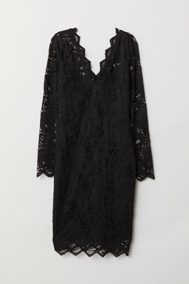 H&M Fitted lace dress