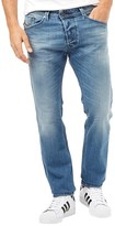 Diesel Mens Darron 0842H Straight Fit Jeans Blue