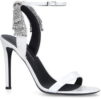 Giuseppe Zanotti Leather Crystal Sandals 105