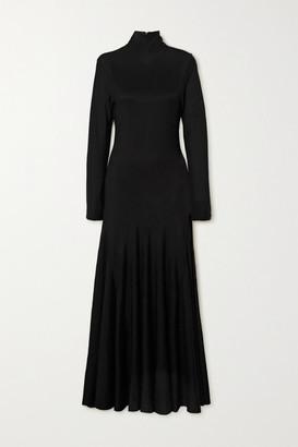 Bottega Veneta Stretch-jersey Turtleneck Maxi Dress - Black