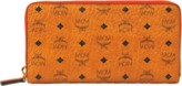 MCM Color Visetos Zip Around Large wallet