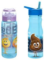 Zak Designs Sony® The Emoji Movie® Plastic Drinkware 2pc