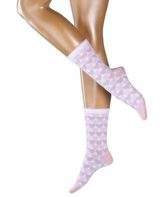 Esprit Women's Mixed Hearts Calf Socks
