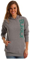 Burton Antidote Pull Over Hoodie (Heather Pewter) - Apparel