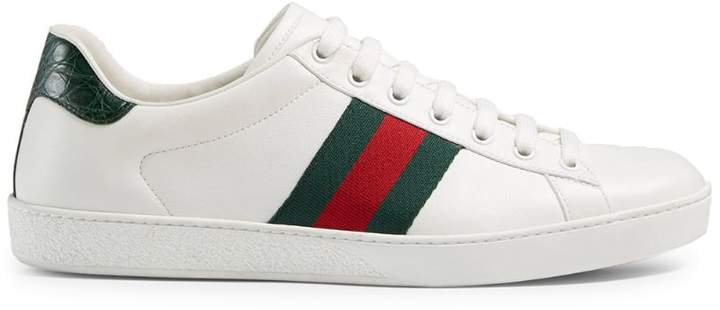 f42bf9850ef Gucci White Trainers For Men - ShopStyle UK