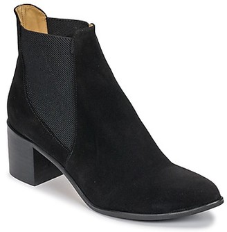 Emma.Go Emma Go GUNNAR women's Low Ankle Boots in Black