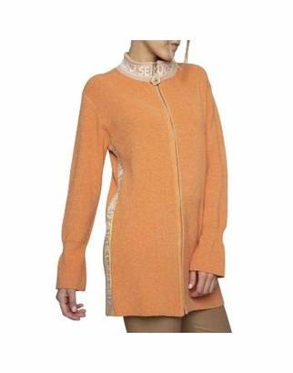 ELISA CAVALETTI by DANIELA DALLAVALLE DELEZIA EJW204009101 Zip Jacket - Orange - XL