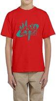 Hera-Boom Youth's YouTube DP Dude Perfect Trick Shots Logo T-shirts