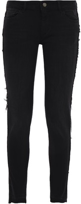 DL1961 Distressed Low-rise Skinny Jeans