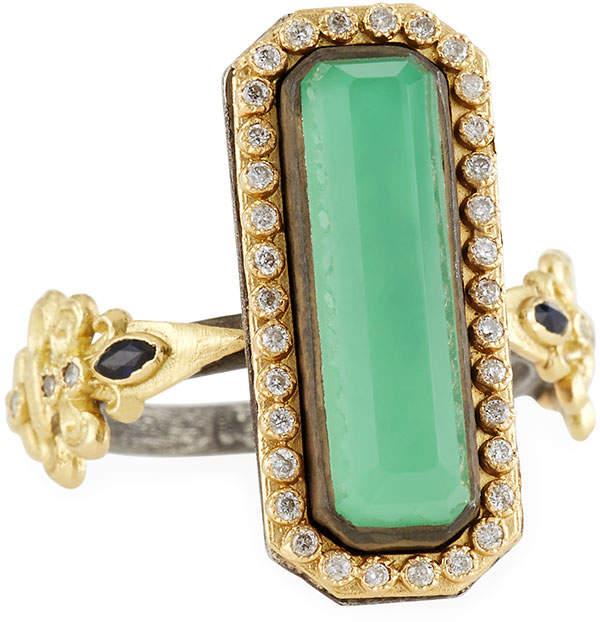 Armenta Diamond, Sapphire & Doublet Ring