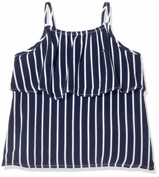 Tommy Hilfiger Baby Girls Fine Stripe Top Slvls Vest