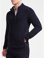 Gant Fleece Jacket, Evening Blue