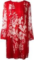 Fendi floral print shift dress