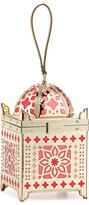 Kate Spade Rambling Roses Lantern Clutch Bag, Gold/Rose