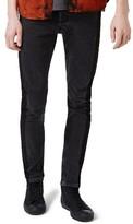 Topman Men's Side Stripe Skinny Jeans