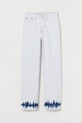 H&M Straight High Waist Jeans