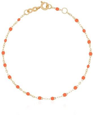 Gigi Clozeau 18kt Yellow Gold And Orange Beaded Bracelet