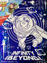 "Toy Story Disney Pixar Wall Decoration ART BOARD (7 1/2"" X 9 3/4"") (BUZZ LIGHTYEAR Blue Foil Art Board)"