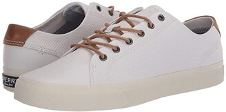 Sperry Striper Plushwave LTT (White) Men's Shoes