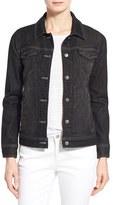 Eileen Fisher Women's Denim Classic Collar Jacket