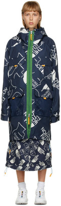 Brain Dead Navy The North Face Edition Oversized Mountain Light Parka