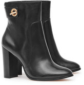 Reiss Hepworth - Block-heel Ankle Boots in Black, Womens