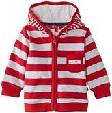 Kanz Unisex Baby 1/1 Sleeves W. Hood Striped Jacket
