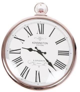 Kensington - Large Kensington Copper Wall Clock - copper - Copper/Copper