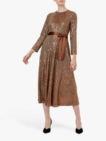 Hobbs Salma Dress, Copper