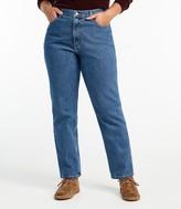 L.L.Bean Women's Double LA Jeans, Relaxed Fit