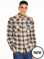 Lee Long Sleeved Checked Western Shirt