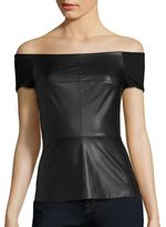 Bailey 44 Glory Box Faux Leather Top