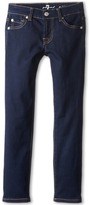 7 For All Mankind Kids Skinny Jean in Rinsed Indigo (Big Kids)