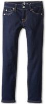 7 For All Mankind Kids - Skinny Jean in Rinsed Indigo Girl's Jeans