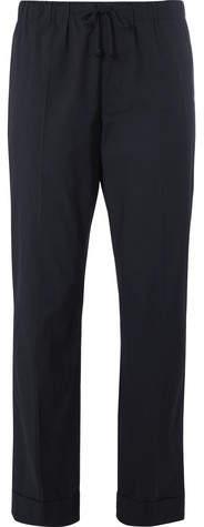 Dries Van Noten Cotton Drawstring Trousers