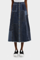 McQ Patched A Line Skirt