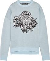 Baja East Double-faced intarsia cashmere sweater
