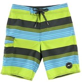 O'Neill Boy's Santa Cruz Stripe Board Shorts
