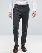 Asos Slim Pants In 100% Wool