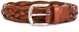 Brunello Cucinelli braided strap belt