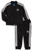 adidas Infant Boy's Logo Track Jacket & Pants Set