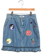 Sonia Rykiel Girls' Denim Embellished Skirt