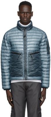 C.P. Company Blue Down Nylon Light Jacket
