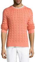 Brooks Brothers Crewneck Cotton Sweater