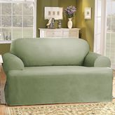 Sure Fit Sure FitTM Solid Duck ClothT-Cushion Loveseat Slipcover