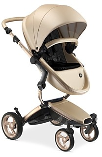 mima Xari Stroller with Champagne Chassis