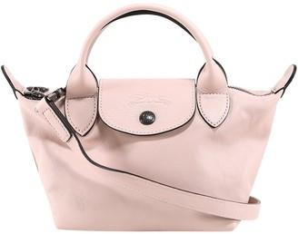 Longchamp Le Pliage Cuir Extra Small Top Handle Bag