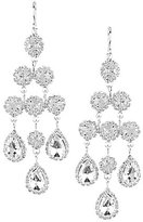 Cezanne Classic Rhinestone Chandelier Earrings